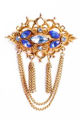 Victorian inspired brooch