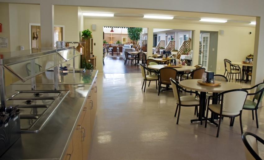 Nursing home jobs for Dining hall pictures home