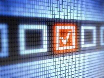 Online survey checkbox