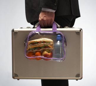 see-through lunch box