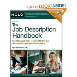 job description handbook