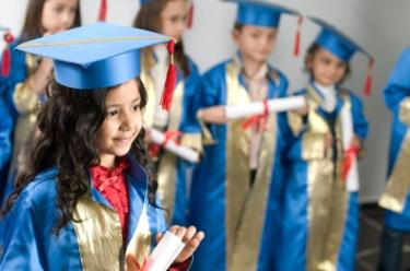 preschoolers graduate