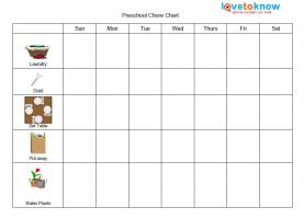 Sticker behavior charts lovetoknow