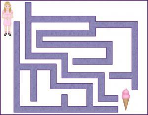 Ice Cream Maze