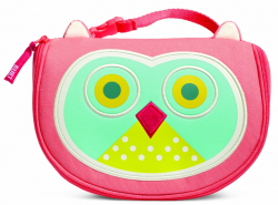 BUILT Big Apple Buddies Insulated Lunch Bag, Astor Owl