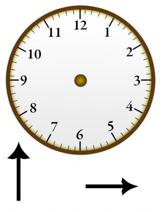 clock face for telling time. Black Bedroom Furniture Sets. Home Design Ideas