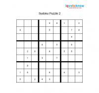 Sudoku puzzle 2