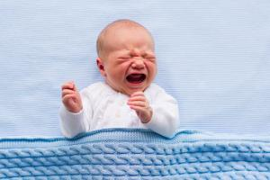 crying newborn