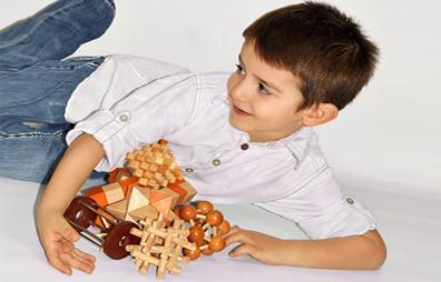 Wooden Brain Teaser