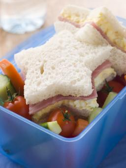 Star Shaped Sandwich