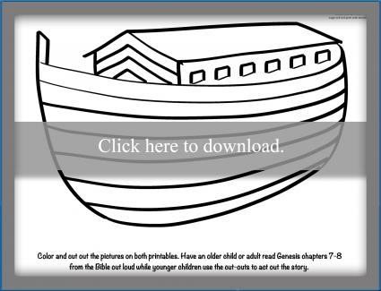 Noah's Ark activity