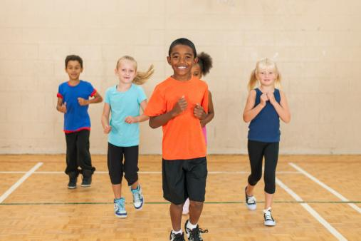 Elementary Gym Class