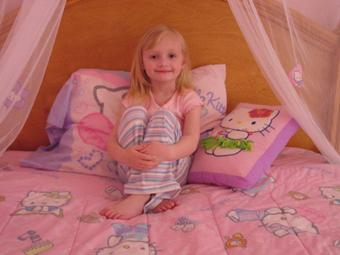 Standard Furniture - Children's Canopy Bed, Add Optional