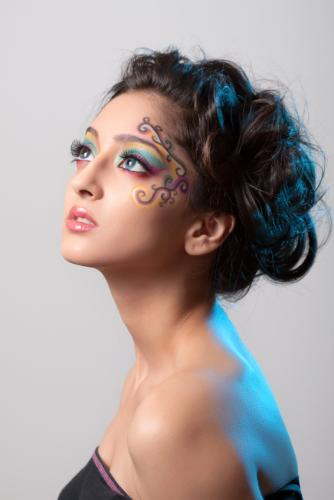 fantasy stage makeup. fantasy stage makeup.