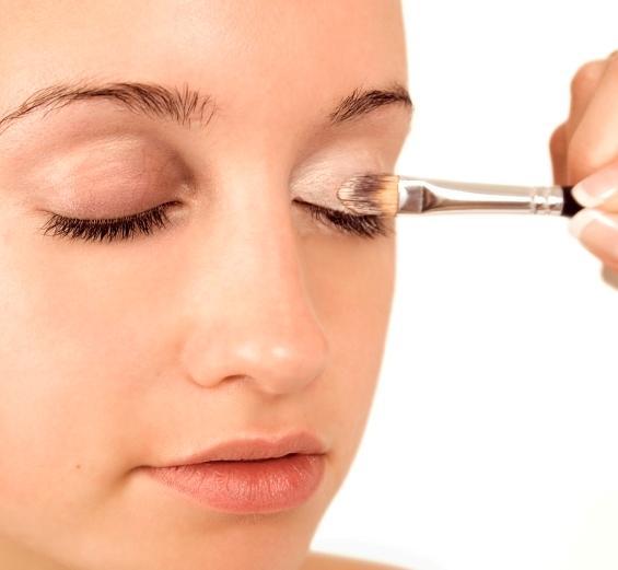 Step by step eye makeup photo tutorial lovetoknow applying eye primer ccuart Choice Image