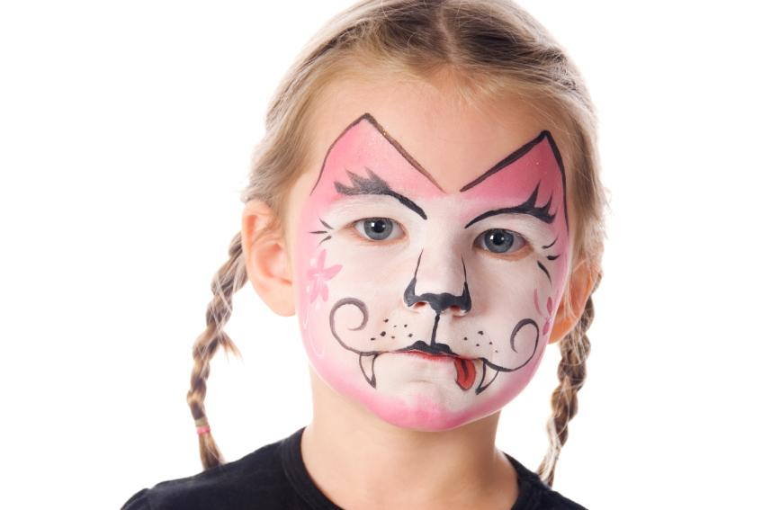 Animal Face Painting [Slideshow]