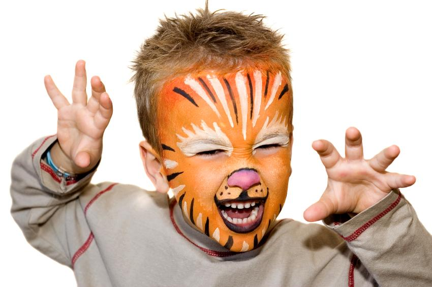 animal face painting slideshow. Black Bedroom Furniture Sets. Home Design Ideas
