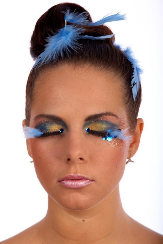 photos and tips for halloween eye makeup slideshow