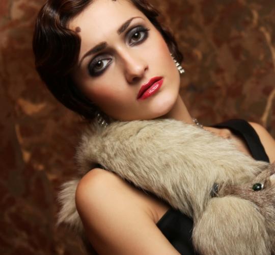 1920s makeup look. logan 1920s+flapper+makeup