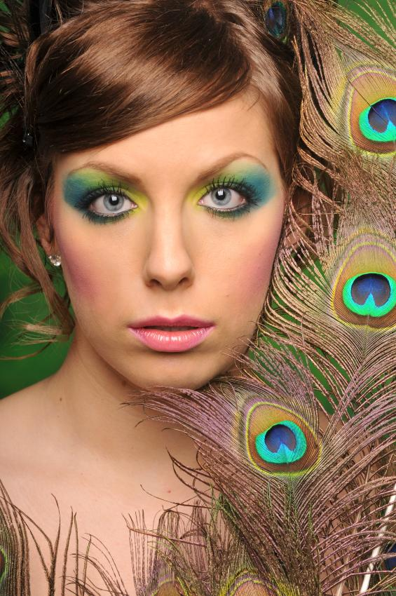 Fantasy Peacock Makeup Pictures [Slideshow]