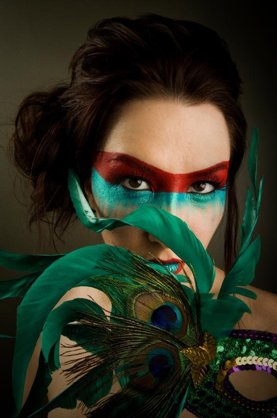 peacock eye makeup Peacock Fantasy Makeup