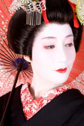 geisha face makeup. Pictures of Geisha Makeup