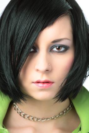 soft emo makeup look