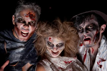 Monster makeup costumes