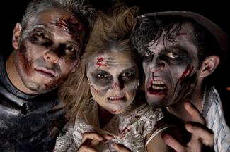 Three Ways to Do Zombie Makeup