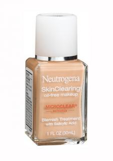 good makeup foundation. neutrogena skinclearing makeup good foundation t