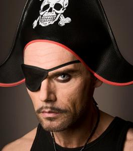 Male Pirate Makeup