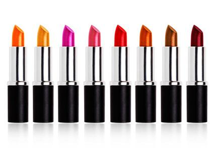 Colorful lipsticks