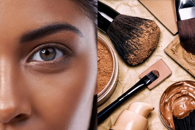 Mineral Makeup Dark Skin