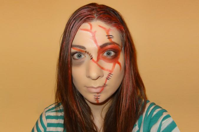 Chucky inspired look