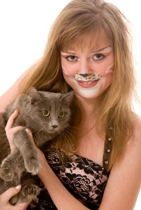 cats makeup. Cat Face Paint