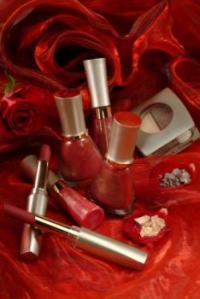 red cosmetics