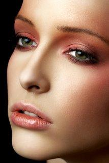 Airbrush foundation gives a flawless finish