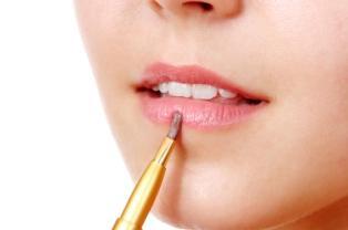 lipstick application