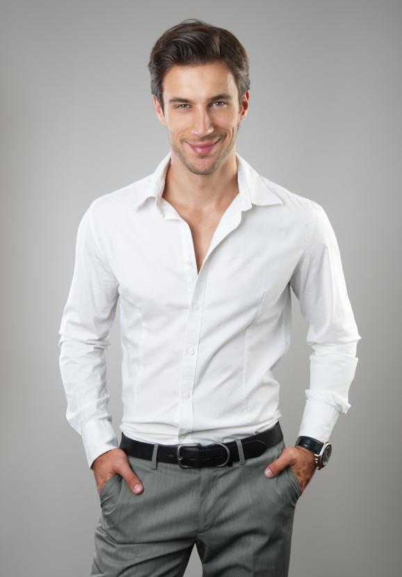 Crisp White Shirt Men | Is Shirt