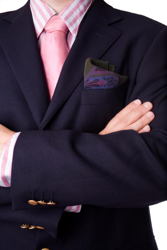 What to wear with a sport coat slideshow for Navy suit and shirt combinations