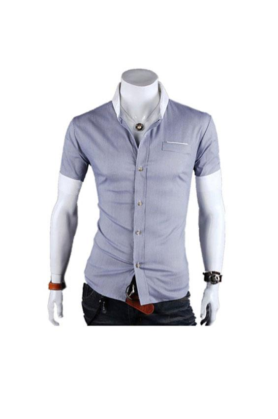 Pictures of Men's Short Sleeve Dress Shirts