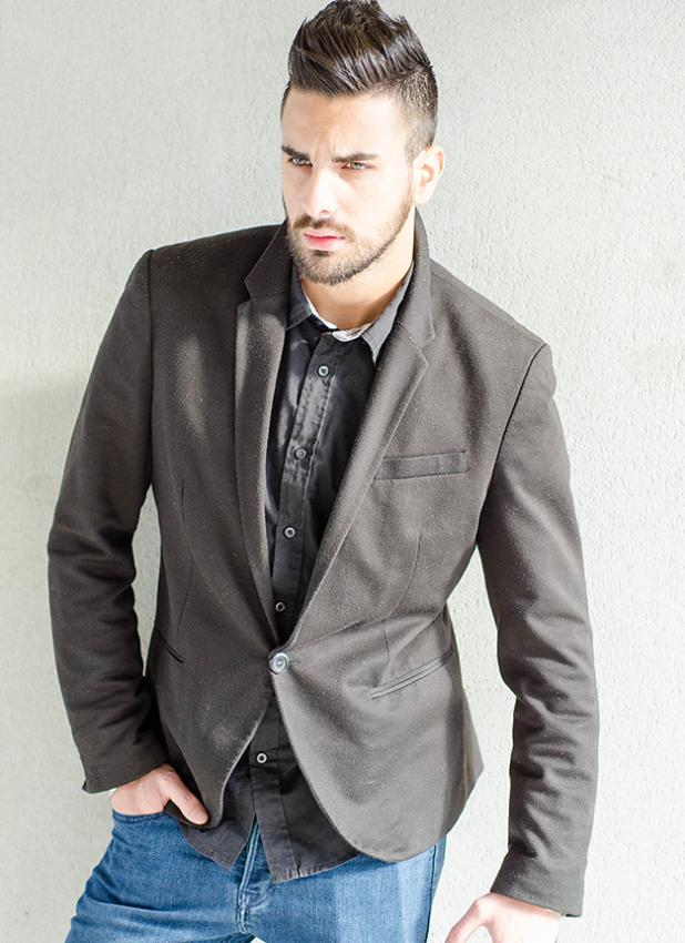 Pictures of Men's Fashion Sport Coats with Jeans