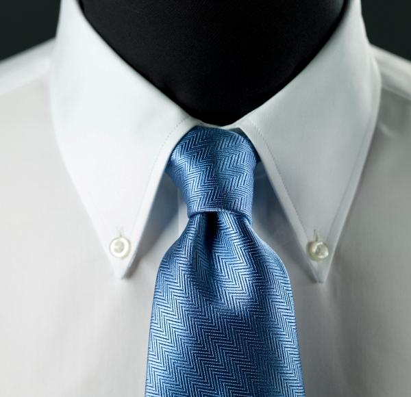 Types of dress shirt collars slideshow for Spread collar dress shirt without tie