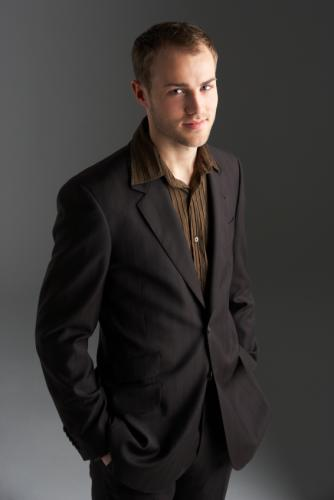 Elegant Casual Suit Fashion with Black Suit for Men in Winter 2011
