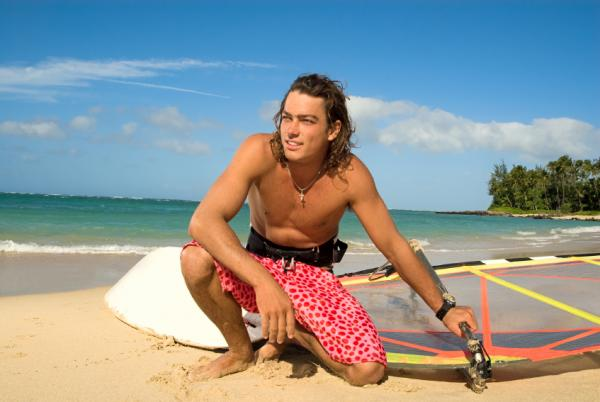 Cute Colorful Men Short Fashion with Brightly Color for Men at The Beach
