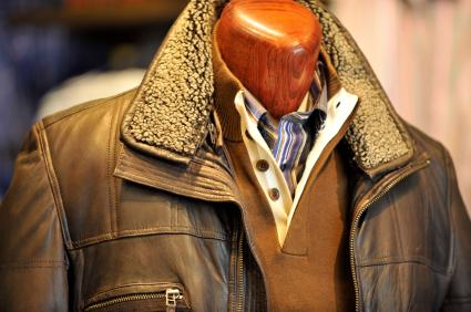 Men's Lined Leather Jacket