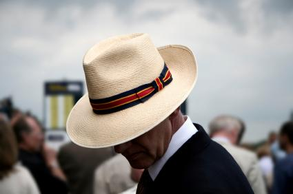 Man in a Panama Hat