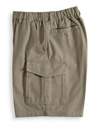 Men's Full Elastic Cargo Shorts