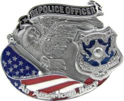 Police officer buckle