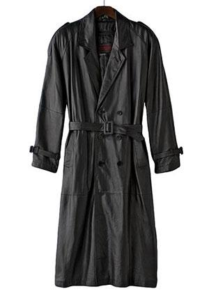 Shopping Guide for Full-Length Men&39s Leather Trench Coats